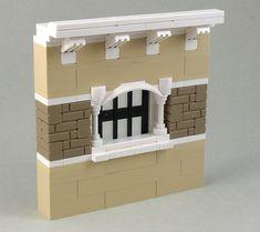 Decorative Window Ideas - Part 1 Lego Moc, Lego Duplo, Legos, Lego Furniture, Minecraft Furniture, Lego Decorations, Big Lego, Micro Lego, Lego Wall