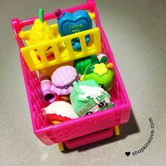 Love our new little shopping cart! #shopkins #shopkinslove #spkfan  Please follow my new account @shopkinsmagazine
