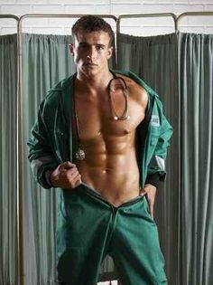 """"" Sexy Hot Men - Men in and out of Uniforms ""Doctor"" "" Hot Men, Hot Guys, Sexy Men, Sexy Guys, Bodybuilder, Hot Doctor, Fitness Models, Le Male, Hommes Sexy"