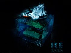 Ice age Cube in The World