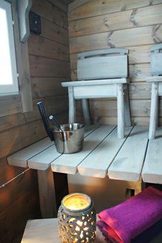Sauna in finnish cottage Sauna Room, Log Homes, Koti, Saunas, Log Cabins, Outdoor Decor, Villa, Cottage, Houses