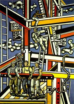 Fernand Leger The Builders