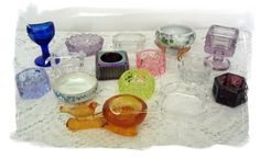 ...my mom; she had a lovely collection of salt cellars..