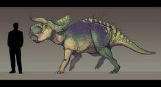 Nasutoceratops titusi by Paleocolour on DeviantArt