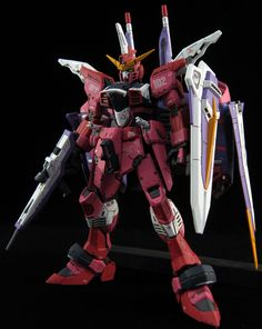 GUNDAM GUY: RG 1/144 Justice Gundam - Customized Build