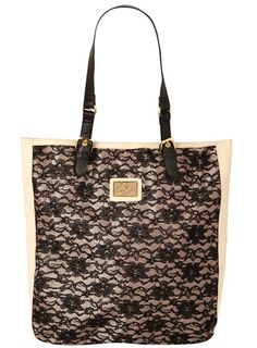 Black and pink lace shopper!  Just ordered it, can't wait to get it!