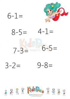 Easy Subtraction without Regrouping - #2   #Simple #Subtraction #No #Regrouping