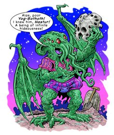 Cthulhu performs Hamlet! by drobrien on DeviantArt