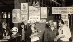 All women over 21 could vote (1928)