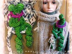 FabelHaft Froschfrau Gutgelaunt Deko- Puppe AKR10 von *** Meine Maschen *** auf DaWanda.com