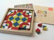 Mosaic cubes, cube 64 - Basic Colors