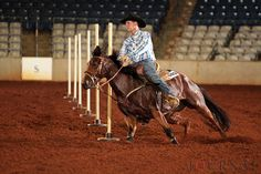 Barrel-horse training starts with the basics and builds from there. Barrel Racing Horses, Barrel Horse, Barrel Train, Equestrian Outfits, Equestrian Style, Westerns, Rodeo Events, Pole Bending, Trick Riding