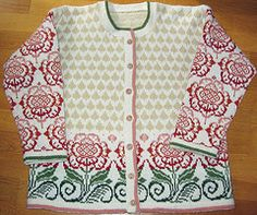 Ravelry: Peony Cardigan pattern by Solveig Hisdal