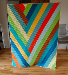 strip quilt...great blog list of quilts using precut strips