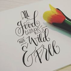 Maybe not kiwis in Jakarta.. But yeah.. Keep the mindset anyway..  #tgif #handlettering #brushcalligraphy #brushlettering #fauxcalligraphy #cute #calligraphy #stpatricksday