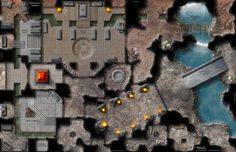 The Mountain Tombs map is another multi-genre map, designed to be used as a Sith Tomb, a Dwarven ancestral site, or perhaps a point of interest in an Indiana Jones adventure...