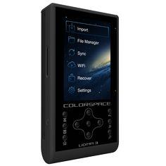 HyperDrive ColorSpace UDMA3 - Photo/Video Memory Card Backup Device for Digital Cameras , Storage - HyperDrive, HyperShop  - 2