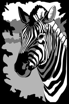 zebra pumpkin carving idea