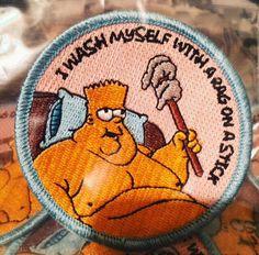 Bart Simpson Iron-On Patch
