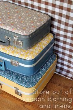Decoração com malas - 50 ideias para você se inspirar!