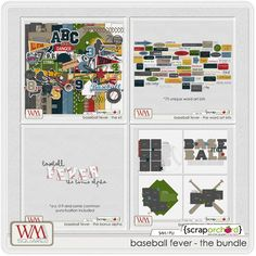 Baseball Fever - The Bundle by WM[squared] Designs
