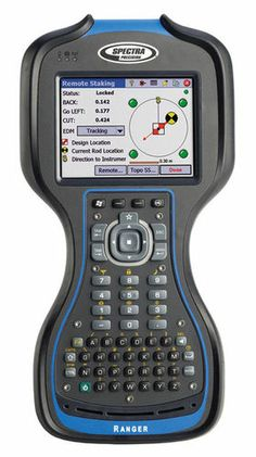 Ordenador de bolsillo de mano para recopilación de datos de topografía 800 MHz, IP67 | Ranger™ 3 series Spectra Precision