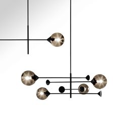 KENDAMA | Pendant lamp Kendama Collection By GIORGETTI design Massimo Zazzeron