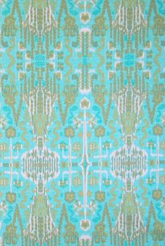 Bombay in Aqua from Lacefield Designs #cotton
