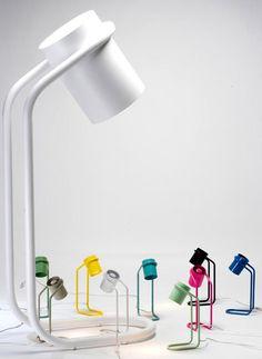 Mini Me lamp by Filip Gordon Frank