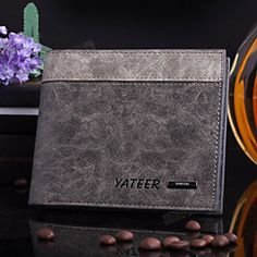 New arrival Nubuck Leather men's wallet, High quality short purse fashion Ultra-thin wallet birthday gift purse free shipping