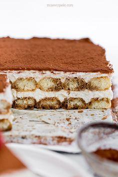 Tiramisu, Luxury Food, Cake Photography, Italian Pasta, Beautiful Cakes, Favorite Recipes, Sweets, Chocolate, Baking