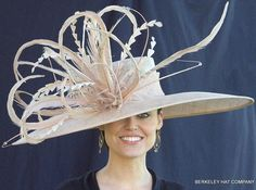 Every Kentucky Derby Hat and Fascinator is Handmade and Unique, no two are exactly the same. Kentucky Derby Outfit, Kentucky Derby Fashion, Royal Ascot Hats, Derby Outfits, Fascinator Hats, Fascinators, Headpieces, Crazy Hats, Fancy Hats