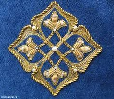 Znalezione obrazy dla zapytania вышивка золотом схемы