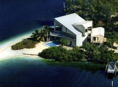 linda casa em ilha