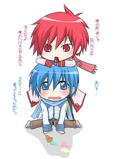 kaito and akaito