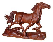 Cavallo, Scultura In Legno, Regali