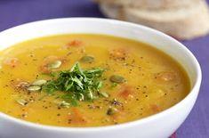 Pumpkin and pepper soup recipe - goodtoknow