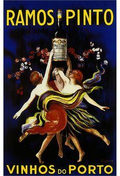 Ramos Pinto Wine Advertisement Art Poster Print