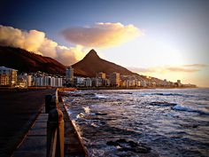 Sea Point promenade in Cape Town, South Africa Places Around The World, The Places Youll Go, Places To Visit, Around The Worlds, Bucket List For Girls, Cape Town South Africa, Before I Die, Free Things To Do, Africa Travel