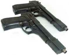 Modified Berettas 92FS used by Selene in the Underworld movies