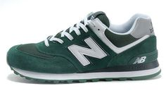 ebf3ce874cad Pas cher France New Balance 2014 NB 574 New Mihara Chaussures Femme Homme  Vert Blanche