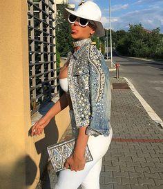 @demodejewelry coat, Celine sunglasses