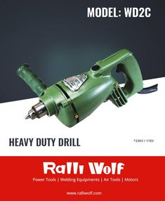 These are powerful,portable & versatile drills designed for high speed drilling in continuous production line work. The back handle ensures easy control making it an ideal machine for coach building,ship building,automobile assembly section etc.