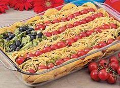 Yum... Id Pinch That! | Patriotic Taco Salad Recipe