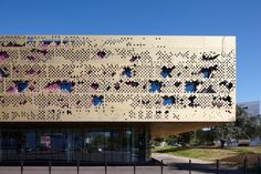 look how cool this building is! it's an arts school in France!