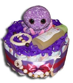 Olga Octopus Windeltorte