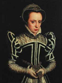 "At Burghley House, Lincolnshire, called ""Tudor lady, possibly Mary Queen of Scots"" Tudor History, European History, Women In History, British History, Mary Queen Of Scots, Queen Mary, Marie Tudor, Reign, Kings & Queens"