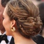 fine bridesmaid hairstyles for medium hair