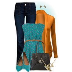 """Tweety"" by hollyhalverson on Polyvore"