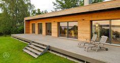 Bungalow-Holzhaus Moderner Bungalow
